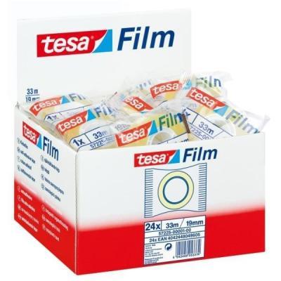 Tesa plakband: Film Standart 19mm x 33m - Transparant