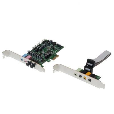 Logilink geluidskaart: PC0076 - CMedia 8828 + 9882A, 24bit/192KHz, 92dB