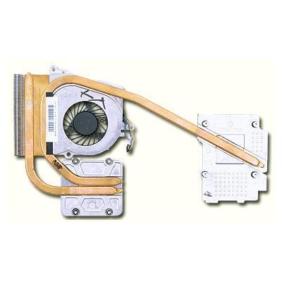 Hp notebook reserve-onderdeel: Fan & heat sink assembly - Metallic