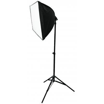 König camera flitser: Konig, Opvouwbare Foto Studio Softbox Kit 2x 70 W