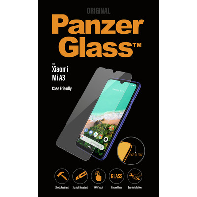 PanzerGlass Xiaomi Mi A3 Edge-to-Edge Screen protector - Transparant