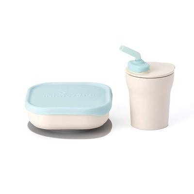 Miniware Sip & Snack - Blauw