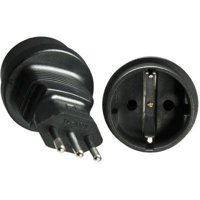 Microconnect PEAIT3MSCF Stekker-adapter - Zwart
