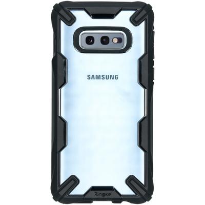 Ringke Fusion X Backcover Samsung Galaxy S10e - Zwart - Zwart / Black Mobile phone case
