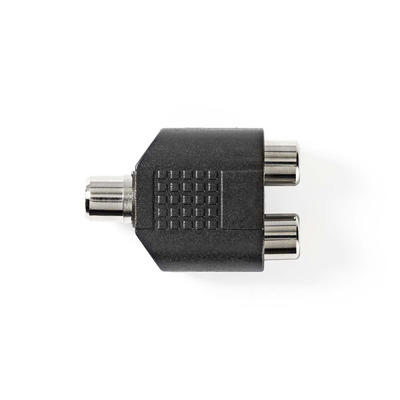 Nedis CAGP24941BK Kabel adapter - Zwart