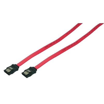 LogiLink SATA 0.9m ATA kabel - Rood