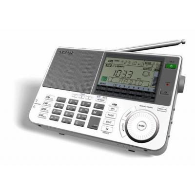 Sangean radio: FM-RBDS/MW/LW/SW PLL Synthesized Receiver - Grijs