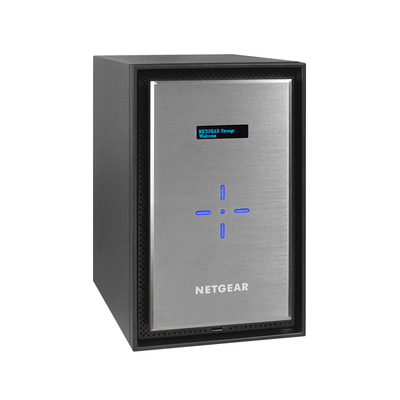 Netgear Ready628X NAS - Zwart, Zilver
