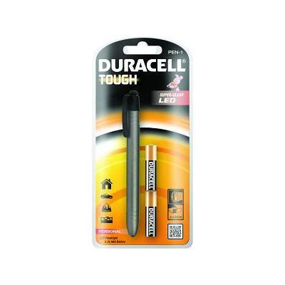 Duracell zaklantaarn: LED, 5lm, 15m, 2 x AAA