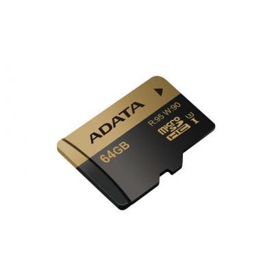 Adata flashgeheugen: Speicherkarten - Zwart, Goud