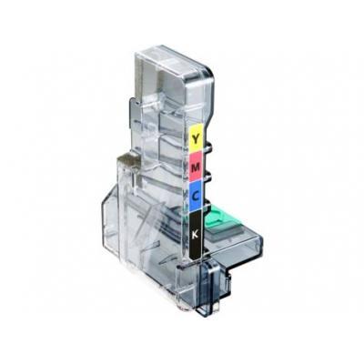 Samsung toner collector: CLT-W409 - Zwart, Cyaan, Magenta, Geel
