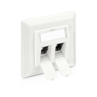 PureLink Keystone Wallplate, white - Wit