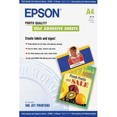 Epson Photo Quality, DIN A4, 167 g/m² Fotopapier - Wit