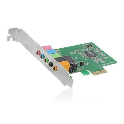 Ewent geluidskaart: 5.1ch, PCI-e 32 bit, C-Media CMI8738-LX, DS3D A3D, Direct 3D, EAX