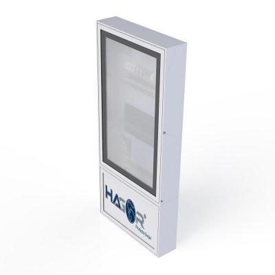 Hagor informatie kiosk: 1663 - Aluminium