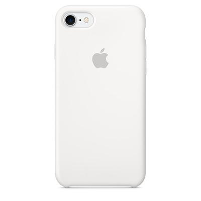Apple mobile phone case: Siliconenhoesje voor iPhone 7 - Wit