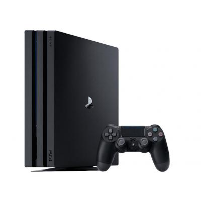 Sony spelcomputer: PlayStation 4 Pro - Zwart