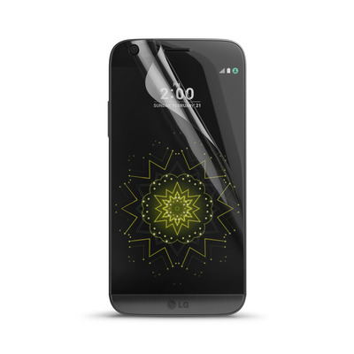 Behello screen protector: LG G5 Screen Protector Glossy Transparent - Transparant