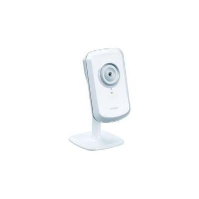 """D-link beveiligingscamera: 1/5"""" CMOS, F2.8, 4x digital, 1 lux min, 10/100Base-TX, 802.11b/g/n"""
