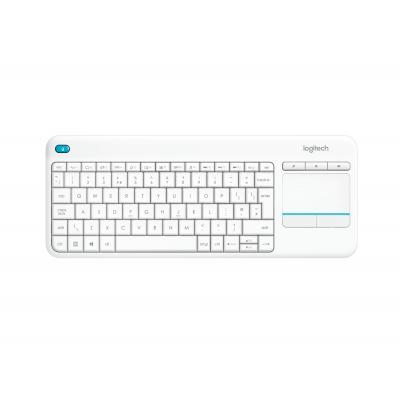 Logitech toetsenbord: K400 Plus - Wit