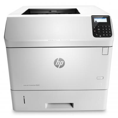 Hp laserprinter: LaserJet Enterprise M605dn - Zwart