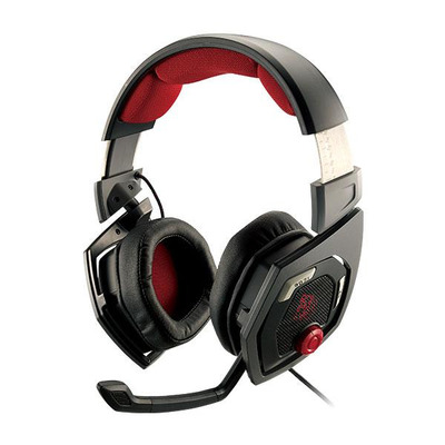 Tt eSPORTS SHOCK 3D 7.1 Headset - Zwart, Rood