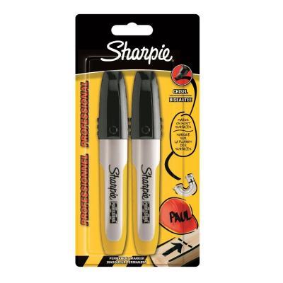 Sharpie marker: S0810780 - Zwart, Zilver