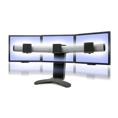 Ergotron LX Series Triple Display Lift Stand Monitorarm - Zwart