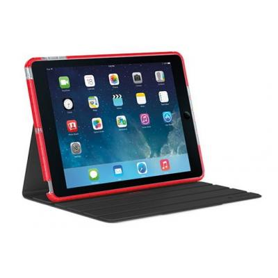 Logitech tablet case: Big Bang, f/ iPad Air, Magma Red - Zwart, Rood