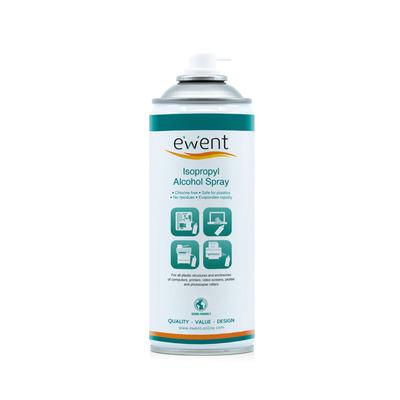 Ewent Isopropyl Alcohol spray 400ml Reinigingskit - Transparant
