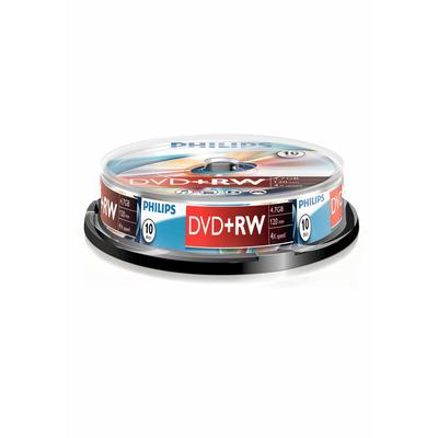 Philips De uitvinder van de technologieën achter CD en. 4,7 GB/120 min. 4x DVD