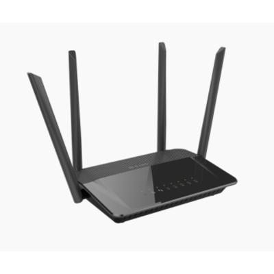 D-Link AC1200 Dual Band Wireless router - Zwart