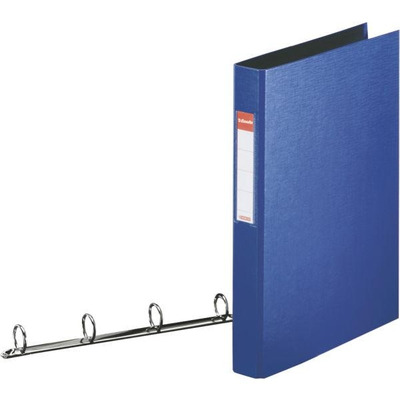 Esselte Standard Ring Binders , PP Blue 4x25 mm Ringband - Blauw