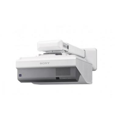 "Sony beamer: 3 LCD, 0.63"", 4:3, 225 W, 6000 H, 2600 lm, 28 dB, 100 V - 240 V, OSD, RJ-45, WLAN, 6 kg - Wit"