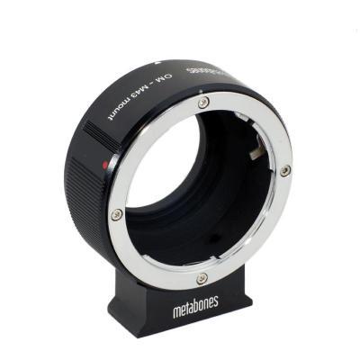Metabones lens adapter: Olympus OM to Micro Four Thirds Adapter - Zwart, Metallic