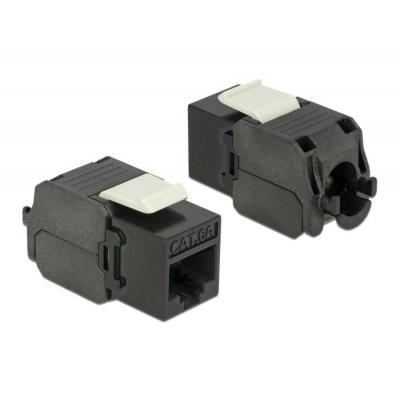 DeLOCK RJ45/ LSA, Cat6a, 23 - 26 AWG, 37.8 x 16.0 x 22.5 mm - Zwart