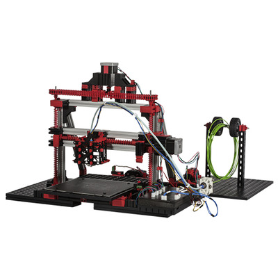 Fischertechnik 536624 3D-printer - Zwart, Grijs, Rood