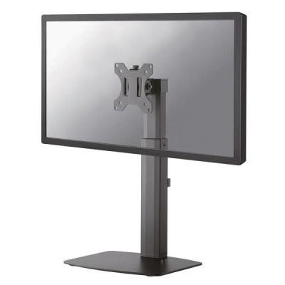"Newstar Stylish Tilt/Turn/Rotate Desk Stand for 10-27"" Monitor Screen, Height Adjustable - Black monitorarm"