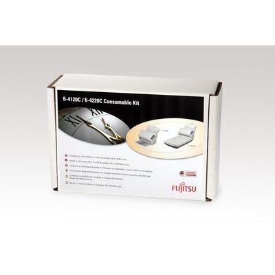 Fujitsu printing equipment spare part: Sets met verbruiksartikelen voor fi-4120C/4220C - Multi kleuren