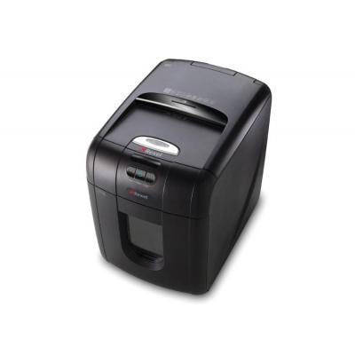 Rexel papierversnipperaar: auto+ 100 papiervernietiger S3 ST - Zwart