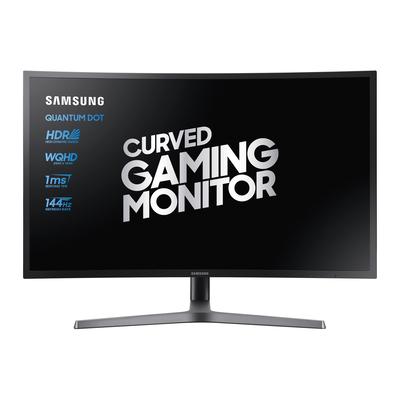 Samsung C32HG70QQU Monitor - Blauw, Grijs