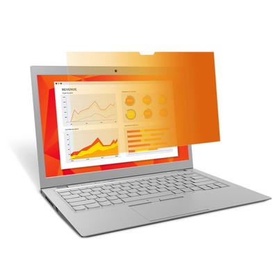 3M Gold Touch Privacyfilter voor 13,3‑inch full‑screenlaptop (GF133W9E) Schermfilter