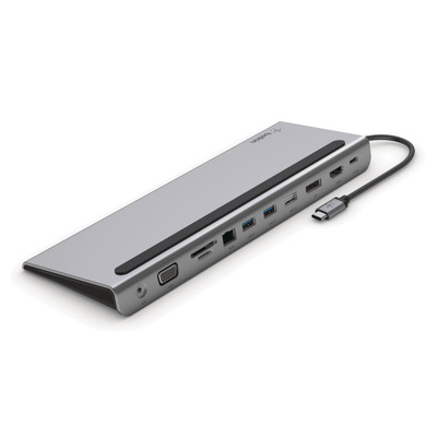 Belkin USB-C 11-in-1 Hub Docking station - Zwart,Grijs