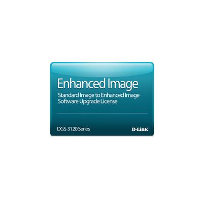 D-Link Standard to Enhanced Image Upgrade License Software licentie