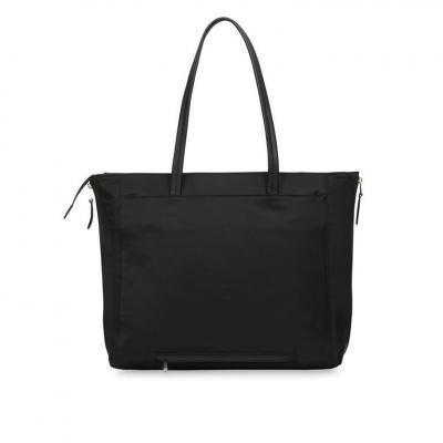 Knomo vrouwen-handtas: Grosvenor Place - Zwart