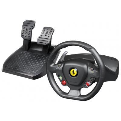 Thrustmaster game controller: Ferrari 458 - Zwart