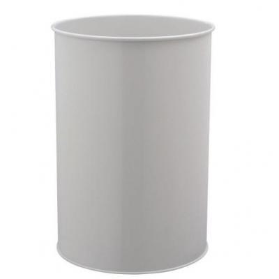 Durable Waste basket metal round 30 Prullenbak - Grijs