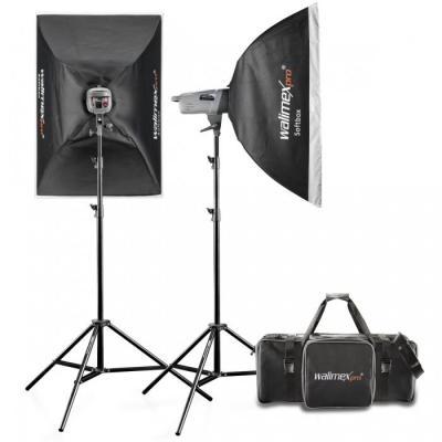 Walimex fotostudie-flits eenheid: pro Studio Set VE 4.4 - Grijs