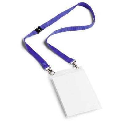 Durable badge: * Badge voor extra groot naamkaartje. * Uitgeprinte A4 papieren kunnen gemakkelijk worden gevouwen en .....
