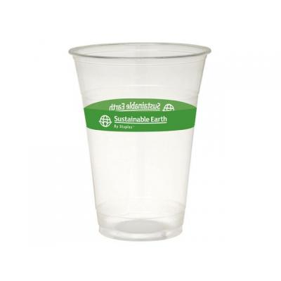 Sustainable earth by staples domestic coffee or tea cup: Drinkbeker Sust. 0,475l transp.bio pk/50